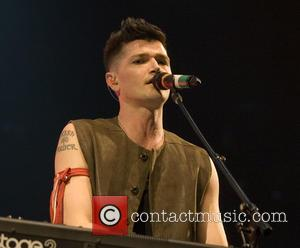 The Script and Danny O'Donoghue - Shots of the British band The Script as they gave a live performance at...