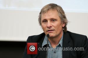 Viggo Mortensen - Viggo Mortensen attends the presentation for the book 'Sons of the Forest' in Barcelona. The book by...