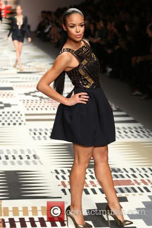 Sarah-Jane Crawford - LFW: Fashion For Relief charity fashion show - rehearsal - London, United Kingdom - Thursday 19th February...