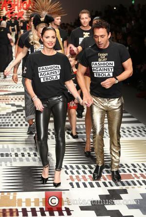 Katie Price and Bruno Tonioli