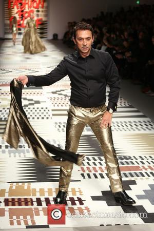 Bruno Tonioli - LFW: Fashion For Relief charity fashion show - rehearsal - London, United Kingdom - Thursday 19th February...
