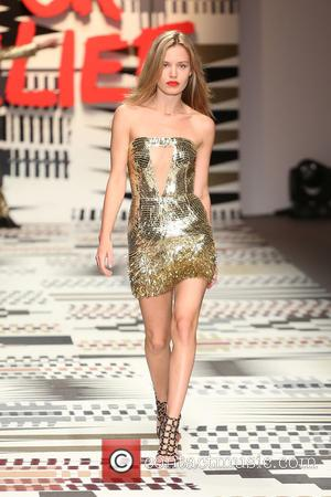 Georgia May Jagger - LFW: Fashion For Relief charity fashion show - rehearsal - London, United Kingdom - Thursday 19th...