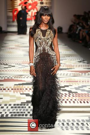 Naomi Campbell - LFW: Fashion For Relief charity fashion show - rehearsal - London, United Kingdom - Thursday 19th February...