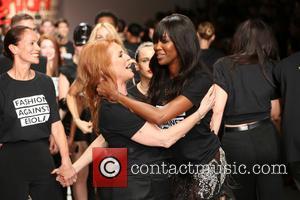 Sarah Ferguson and Naomi Campbell - LFW: Fashion For Relief charity fashion show - rehearsal - London, United Kingdom -...