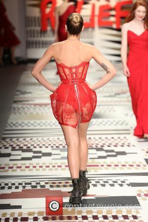 Alice Dellal - LFW: Fashion For Relief charity fashion show - rehearsal - London, United Kingdom - Thursday 19th February...