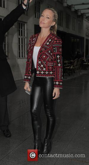 Kendra Wilkinson - Kendra Wilkinson leaving the BBC studios in London - London, United Kingdom - Thursday 19th February 2015