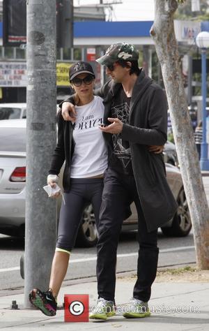 Adrien Brody and Lara Lieto