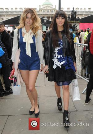 Zara Martin and Jade Williams - Celebrity Sightings On Day 1 Of London Fashion Week AW15 at London Fashion Week...