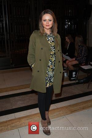 Emily Atack - LFW a/w 2015: Ashley Isham held at Freemason's Hall - front row. - London, United Kingdom - Friday...