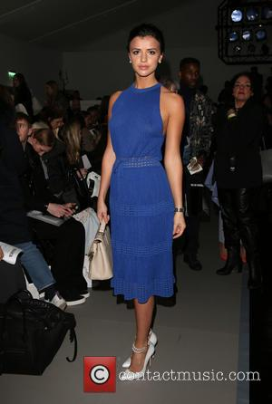 Lucy Mecklenburgh - London Fashion Week Autumn/Winter 2015 - Bora Asku - Front Row at London Fashion Week - London,...