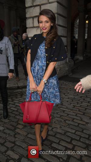 Lucy Mecklenburgh - The first day of London Fashion Week at Somerset House - Attending at Somerset House, London Fashion...