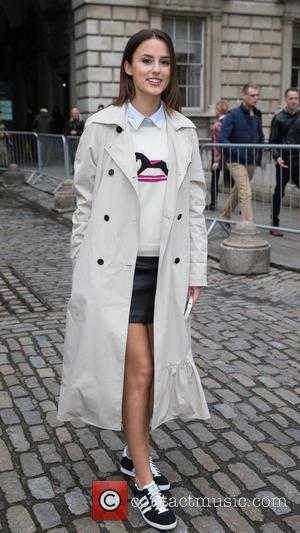 Lucy Watson - Lucy Watson attends the first day of London Fashion Week at Somerset House at Somerset House, London...