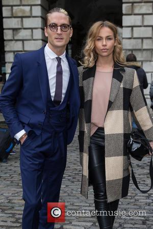 Oliver Proudlock - The first day of London Fashion Week at Somerset House - Attending at Somerset House, London Fashion...