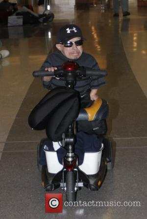 Verne Troyer - Verne Troyer departs from Los Angeles International Airport (LAX) - Los Angeles, California, United States - Friday...