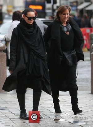 Donna Karan - Arrivals for the memorial service for Professor Louise Wilson OBE at St Pauls Cathedral - London, United...