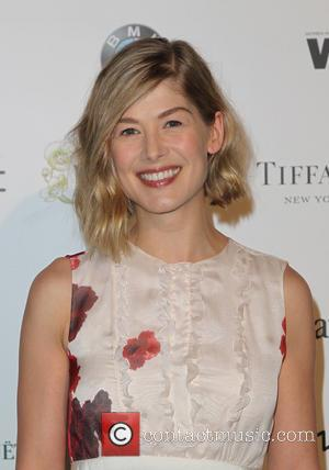 Rosamund Pike - Women In Film Pre-Oscar Cocktail Party at Hyde Sunset Kitchen + Cocktails - Los Angeles, California, United...