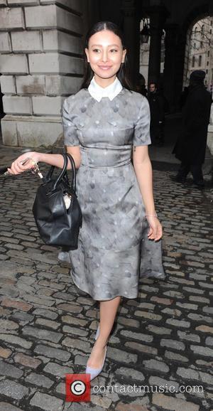 Leah Weller - London Fashion Week A/W 2015 - Celebrity Sightings - Day 1 at London Fashion Week - London,...