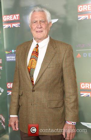 George Lazenby - GREAT British film reception honoring the British nominees of the 87th Annual Academy Awards at The London...