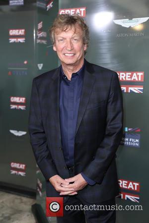 Nigel Lythgoe - GREAT British film reception honoring the British nominees of the 87th Annual Academy Awards at The London...