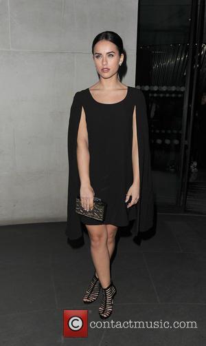 Georgia May Foote - London Fashion Week A/W 2015 - PPQ - Arrivals at London Fashion Week - London, United...
