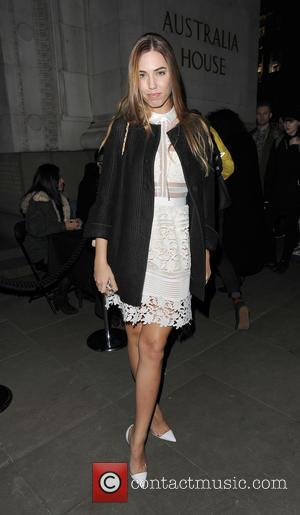 Amber Le Bon - London Fashion Week A/W 2015 - Sass & Bide - Arrivals at London Fashion Week -...