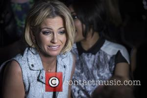 Sarah Harding - London Fashion Week Autumn/Winter 2015 - Bora Asku - Front Row at London Fashion Week - London,...