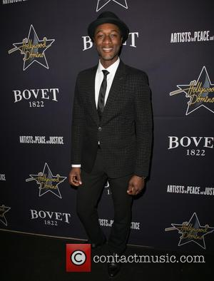 Aloe Blacc - A variety of stars were snapped as they attended the 8th annual pre-Oscar Hollywood Domino Gala &...