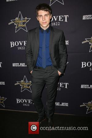 Nolan Gerard Funk - A variety of stars were snapped as they attended the 8th annual pre-Oscar Hollywood Domino Gala...