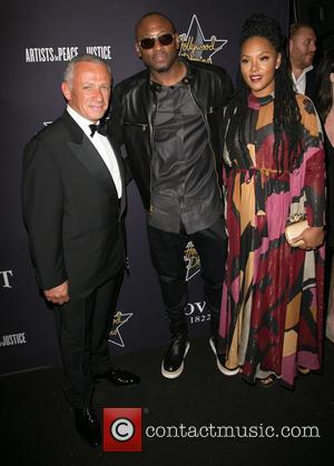 Pascal Raffy, Omar Epps and Keisha Epps