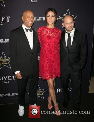 Russell Simmons, Moran Attis and David Belle