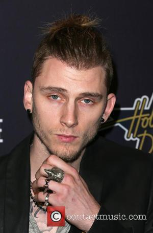 Machine Gun Kelly - Hollywood Domino & Bovet 1822's 8th Annual Pre-Oscar Hollywood Domino Gala & Tournament at Sunset Tower...