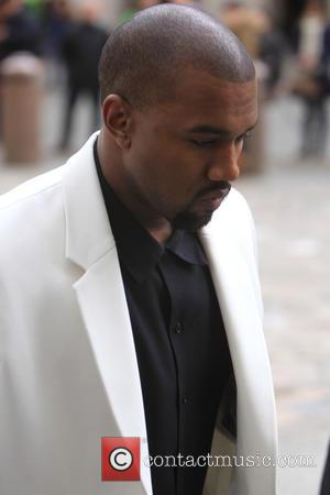 Kanye West And Victoria Beckham Attend Fashion Queen's Memorial