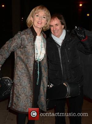 Chris De Burgh and Diane Davison