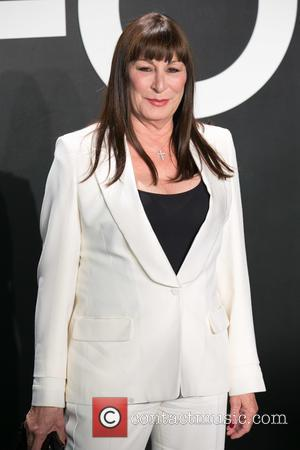 Anjelica Huston - Celebrities attend Tom Ford Autumn/Winter 2015 Womenswear Collection Presentation - Red Carpet at Milk Studios. at Milk...