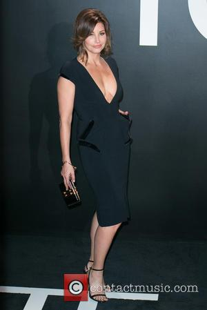 Gina Gershon - Celebrities attend Tom Ford Autumn/Winter 2015 Womenswear Collection Presentation - Red Carpet at Milk Studios. at Milk...
