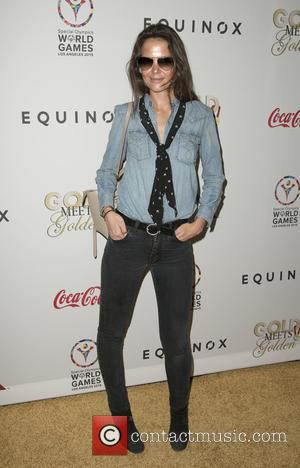 Katie Holmes - 'Gold Meets Golden' benefit at Equinox Sports Club Lounge - Arrivals at Equinox Sports Club – West...