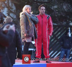 Anthony McPartlin and Ant & Dec - Ant & Dec film 'Saturday Night Takeaway' outside ITV Studios - London, United...