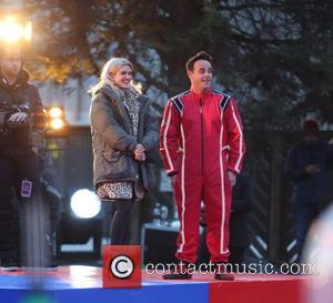 Anthony McPartlin, Ant & Dec and Ashley Roberts - Ant & Dec film 'Saturday Night Takeaway' outside ITV Studios -...
