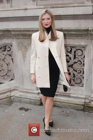 Caprice - London Fashion Week Autumn/Winter 2015 - Julien Macdonald - Outside Arrivals at London Fashion Week - London, United...