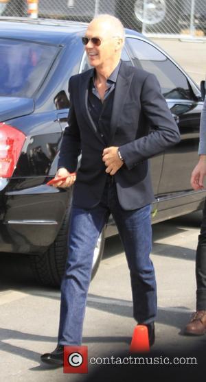Michael Keaton - 2015 Film Independent Spirit Awards - Outside Arrivals at Independent Spirit Awards - Hollywood, California, United States...