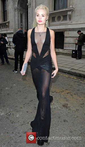 Nina Nesbitt - London Fashion Week Autumn/Winter 2015 - Julien Macdonald - Outside at London, London Fashion Week - London,...