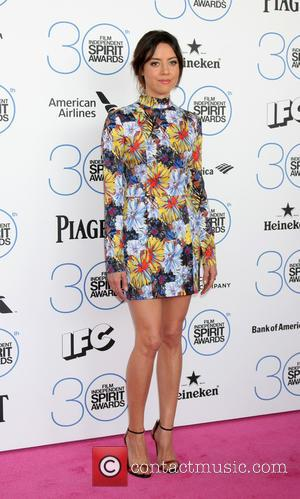Aubrey Plaza - 30th Film Independent Spirit Awards - Arrivals at Tent on the beach, Independent Spirit Awards - Santa...