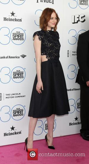 Emma Stone - 30th Film Independent Spirit Awards - Arrivals at Tent on the beach, Independent Spirit Awards - Santa...