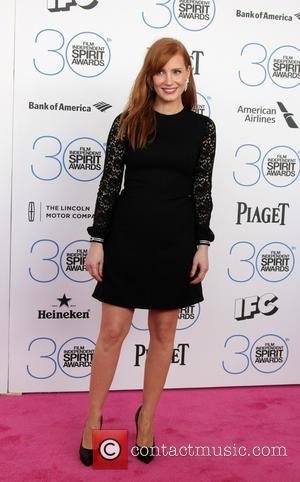 Jessica Chastain - 30th Film Independent Spirit Awards - Arrivals at Tent on the beach, Independent Spirit Awards - Santa...