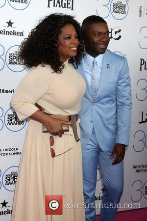 Oprah Winfrey and David Oyelowo - 30th Film Independent Spirit Awards - Arrivals at Tent on the beach, Independent Spirit...