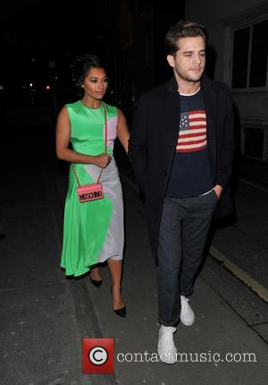 Vanessa White and Gary Salter - Coca Cola party held at Browns Focus - Arrivals and Departures - London, United...