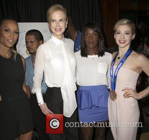 Lolo Jones, Nicole Kidman, Alysia Montano and Gracie Gold