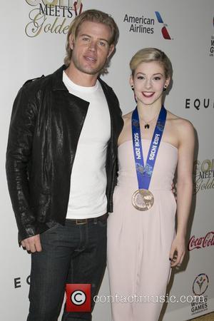 Trevor Donovan and Gracie Gold