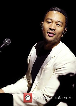 John Legend - iHeartRadio Ultimate Valentine's Escape at Paris Las Vegas Presented By Hot Tub Time Machine 2 at Brooklyn...