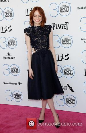 Emma Stone - 2015 Film Independent Spirit Awards - Arrivals at Independent Spirit Awards - Hollywood, California, United States -...